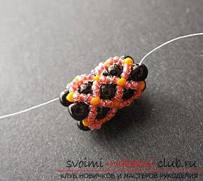 Мастер классы по плетению жгутов из бисера различных размеров, фото готовый изделий.. Фото №24