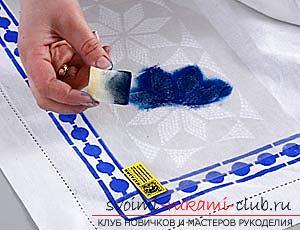Как расписать ткань в домашних условиях, своими руками. Поэтапная инструкция и материалы для росписи ткани.. Фото №1