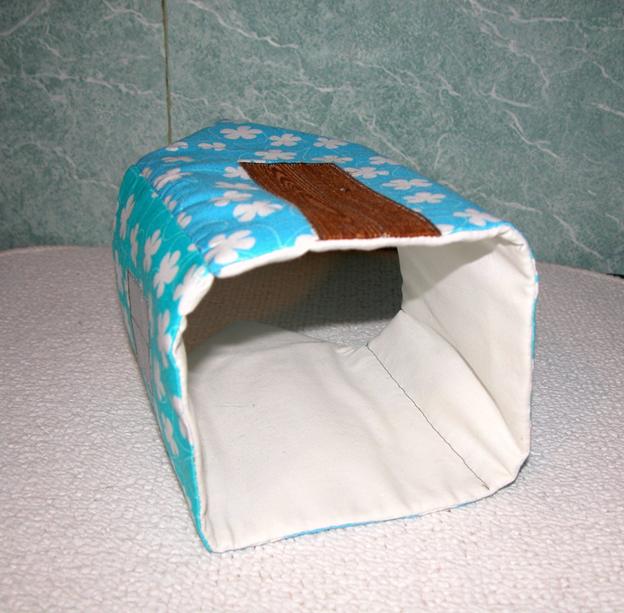 Мастер-класс - делаем текстильный функциональный домик своими руками. Фото №10