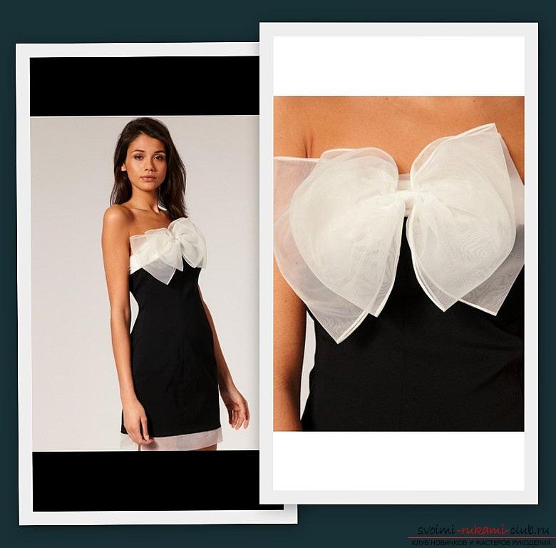 Сшить черное платье своими руками
