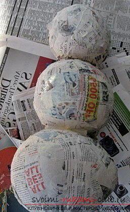 Новогодние поделки, детские новогодние поделки своими руками, как сделать снеговика из бумаги своими руками, примеры и инструкции по выполнению.. Фото №11