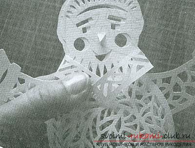 Новогодние поделки, детские новогодние поделки своими руками, как сделать снеговика из бумаги своими руками, примеры и инструкции по выполнению.. Фото №6