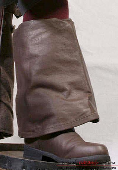 Шьём костюм Джека Воробья своими руками по выкройке. Фото №8