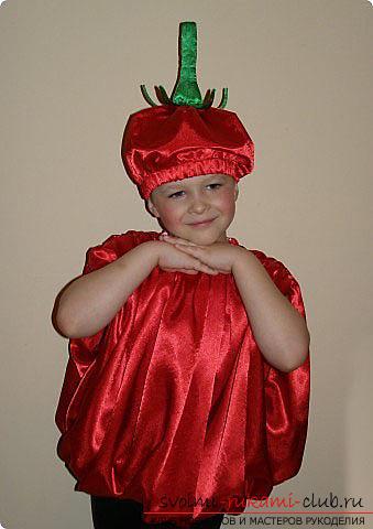 Костюм абрикоса своими руками для мальчика