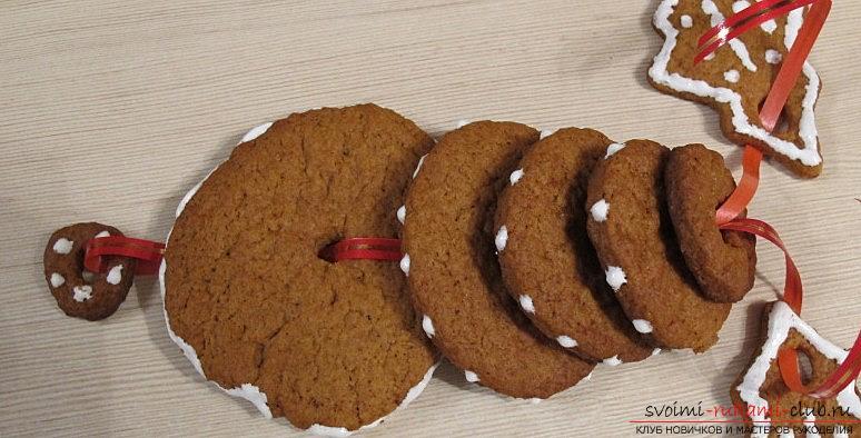 Имбирное печенье своими руками