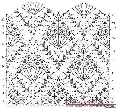 Схема детского платья крючком филейное вязание