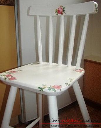 Декупаж стульев для начинающих пошагово 44