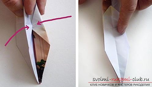 Как создать своими руками поделку в технике оригами для детей возрастом 9 лет.. Фото №23