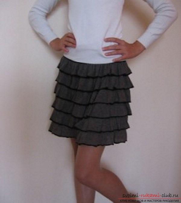 фотоинструктаж по выкройке юбки. Фото №3
