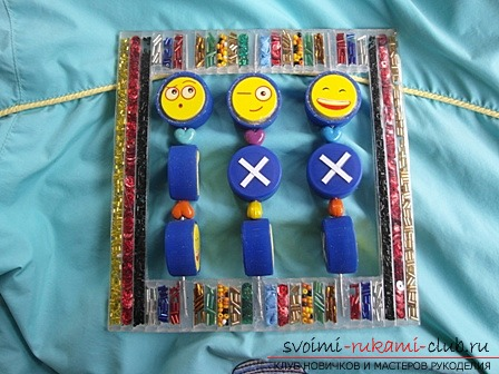 Многоразовые необычные крестики-нолики для детей своими руками