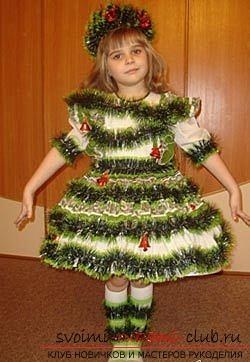 фотоинструкция для выкройки детских костюмов. Фото №1