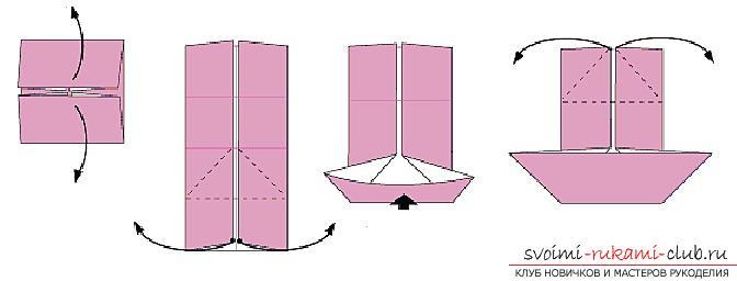 Создание поделок из бумаги своим руками в технике оригами для детей 5 лет.. Фото №32