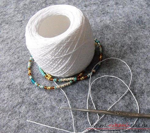 Мастер классы по плетению жгутов из бисера различных размеров, фото готовый изделий.. Фото №26