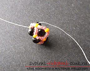 Мастер классы по плетению жгутов из бисера различных размеров, фото готовый изделий.. Фото №22