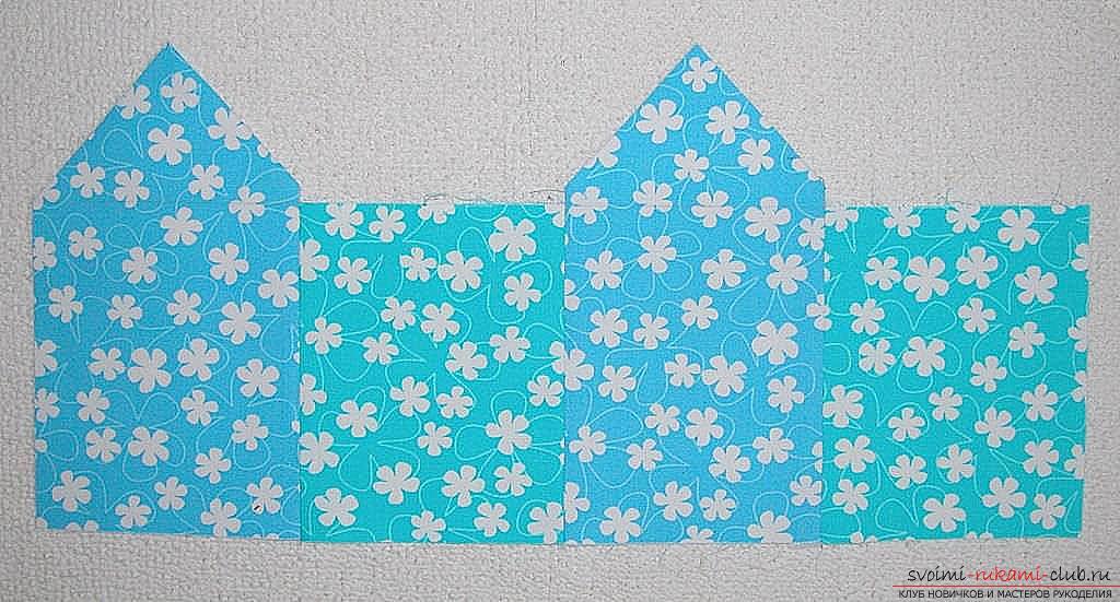 Мастер-класс - делаем текстильный функциональный домик своими руками. Фото №5