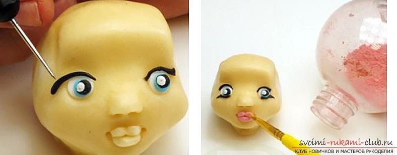 Мастер класс по лепке кукол из полимерной глины своими руками. Фото №6