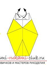 Создание поделок из бумаги своим руками в технике оригами для детей 5 лет.. Фото №41