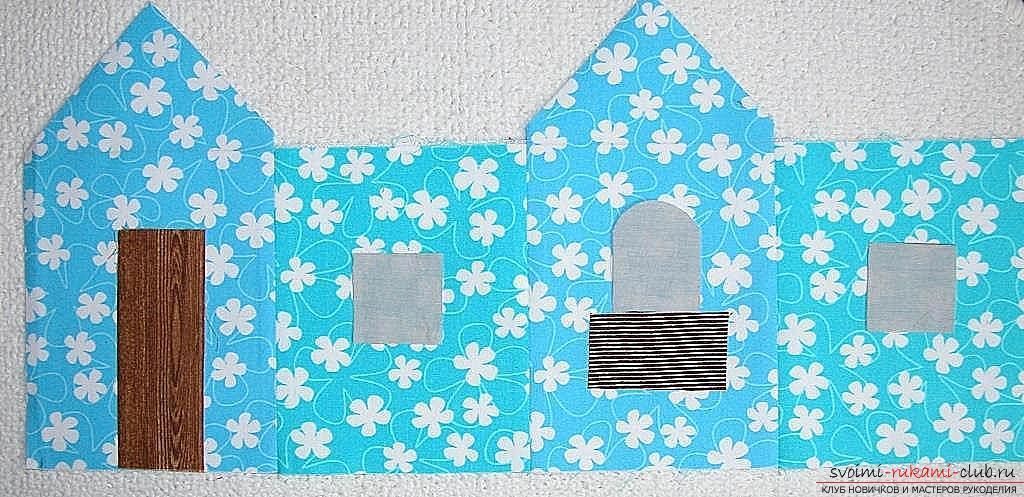 Мастер-класс - делаем текстильный функциональный домик своими руками. Фото №6