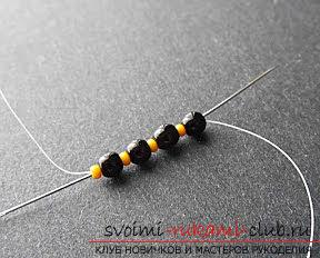 Мастер классы по плетению жгутов из бисера различных размеров, фото готовый изделий.. Фото №16