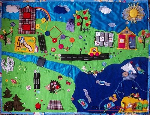 Игрушки для малышей, сделанные своими руками. Разнообразные фото и идеи игрушек.. Фото №2