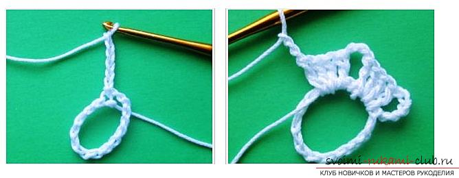 Как связать ленточное кружево крючком, мастер классы со схемами, описанием и фото.. Фото №3