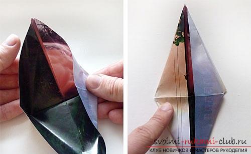 Как создать своими руками поделку в технике оригами для детей возрастом 9 лет.. Фото №17