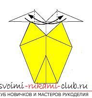 Создание поделок из бумаги своим руками в технике оригами для детей 5 лет.. Фото №40