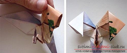 Как создать своими руками поделку в технике оригами для детей возрастом 9 лет.. Фото №31