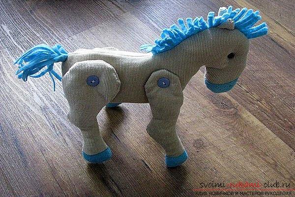 Красивые и оригинальные идеи по выкройке мягкой игрушки лошадки