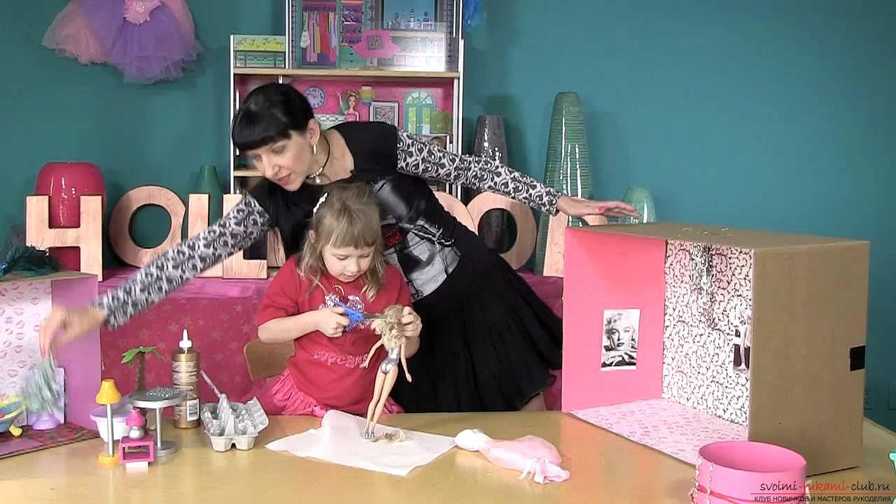 Смотреть бесплатно как сделать куклу своими руками