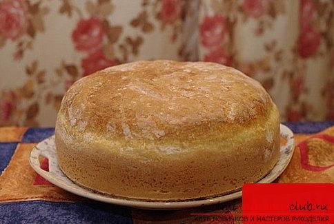 Рецепт: Простой домашний хлеб - все рецепты России 39