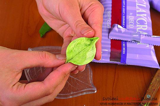 Мастер классы по созданию букетов из полимерной глины с описанием и фото.. Фото №43