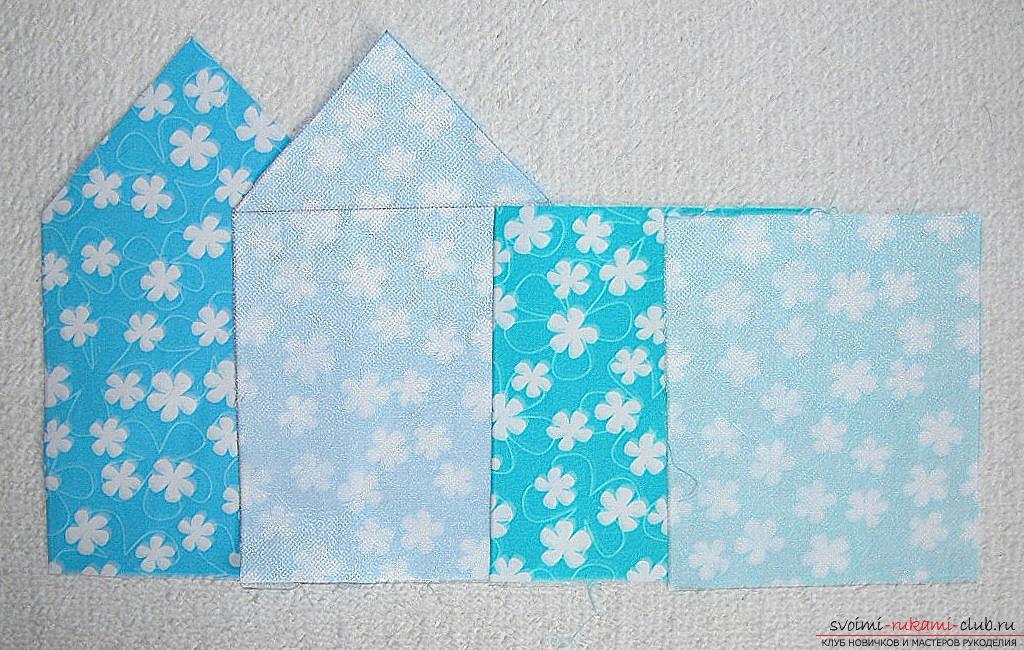 Мастер-класс - делаем текстильный функциональный домик своими руками. Фото №4