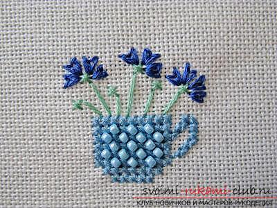 Вышиваем крестом цветы по описанию и схемам. Фото №3