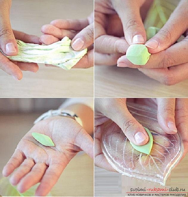 Как сделать своими руками ободок для волос из полимерной глины, мастер класс с фото.. Фото №13