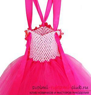 шьём пышное красивое платье для девочки своими руками. Фото №9