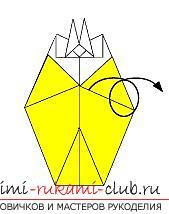 Создание поделок из бумаги своим руками в технике оригами для детей 5 лет.. Фото №42