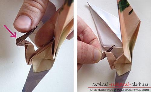 Как создать своими руками поделку в технике оригами для детей возрастом 9 лет.. Фото №30