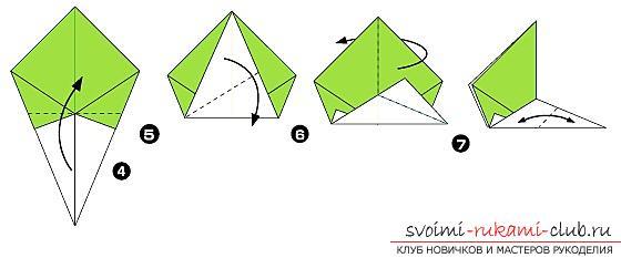 оригами, схемы для детей 8