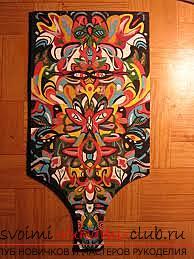 Как расписывать дерево. Поэтапная инструкция, материалы для росписи. Рисуем акриловыми красками по дереву. Фото №3