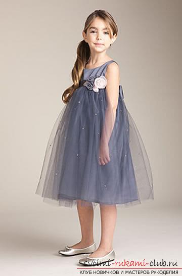Платья для праздника с выкройками