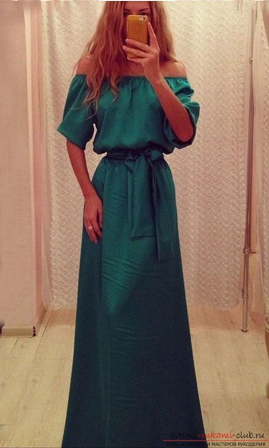 Как сшить длинные платья