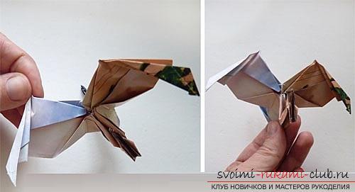 Как создать своими руками поделку в технике оригами для детей возрастом 9 лет.. Фото №34