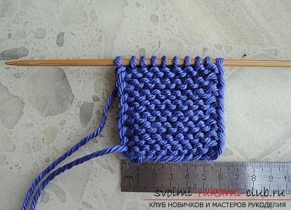 Учимся вязать тапочки двумя спицами. Фото №3