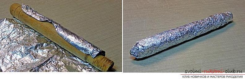 Как украсить бокалы полимерной глиной и как сделать кольца для салфеток из термопластики.. Фото №27
