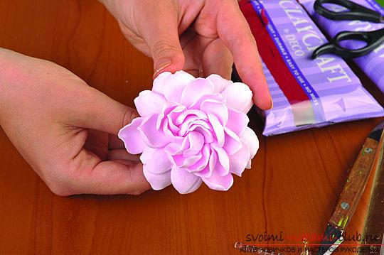 Мастер классы по созданию букетов из полимерной глины с описанием и фото.. Фото №41
