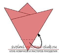 Создание поделок из бумаги своим руками в технике оригами для детей 5 лет.. Фото №5