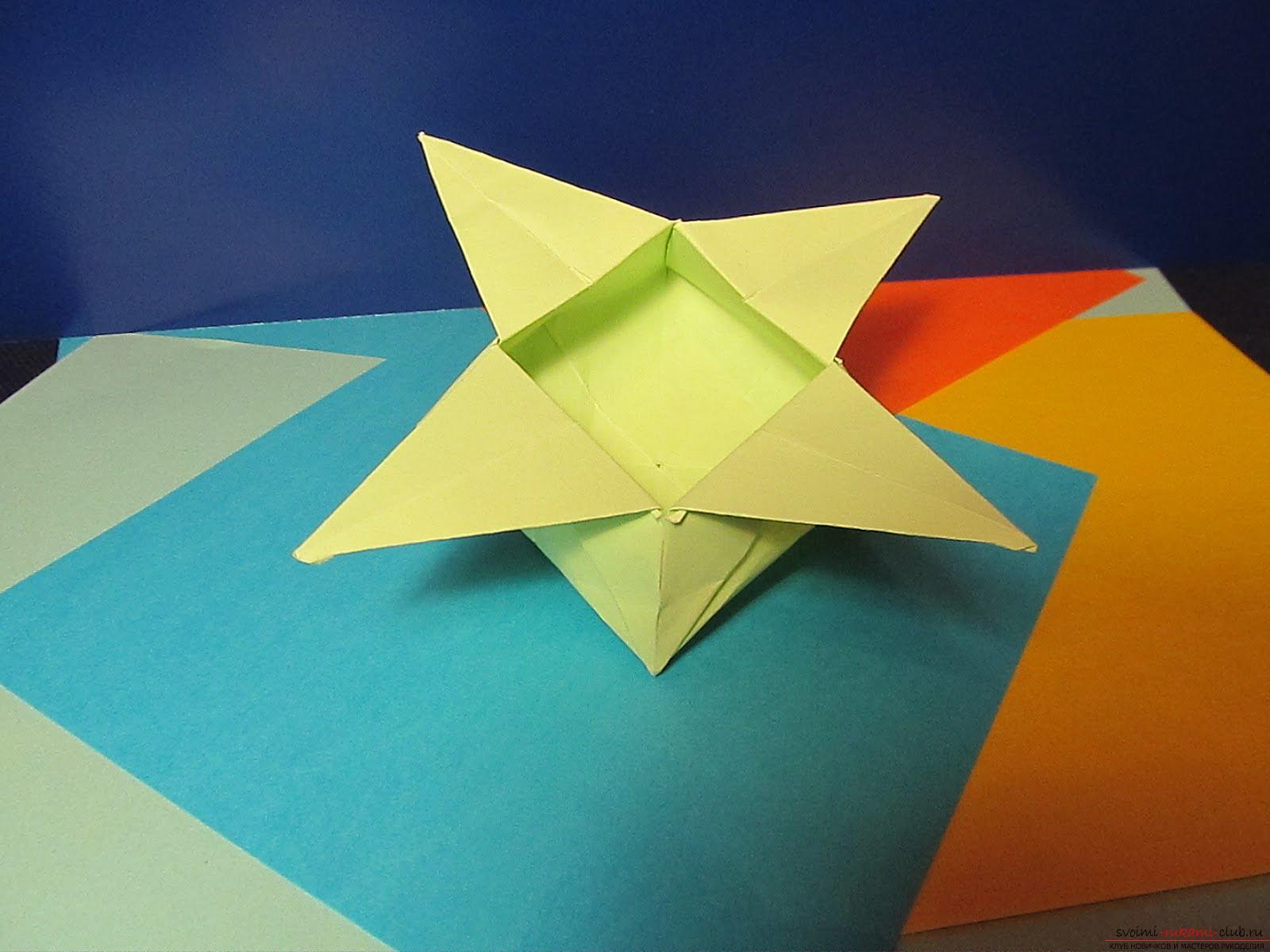оригами дракон схема для начинающих на русском
