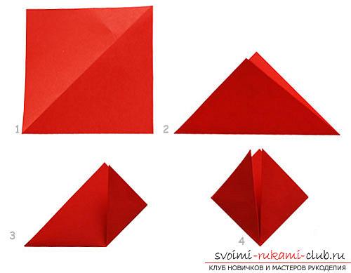 Как создать своими руками поделку в технике оригами для детей возрастом 9 лет.. Фото №8
