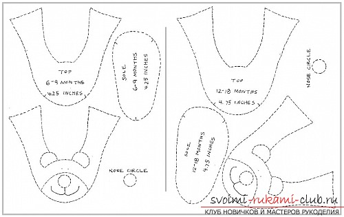 Выкройки махровых пижам